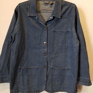 Vintage Oversized Denim Jacket